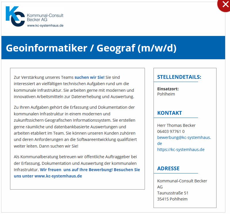 GeoInformatiker